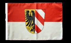 Flagge mit Hohlsaum Deutschland Stadt Nürnberg