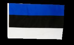 Flagge mit Hohlsaum Estland
