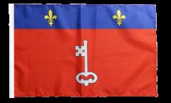 Flagge mit Hohlsaum Frankreich Angers
