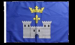 Flagge mit Hohlsaum Frankreich Angoulême