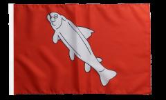 Flagge mit Hohlsaum Frankreich Annecy
