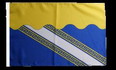 Flagge mit Hohlsaum Frankreich Aube