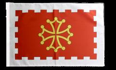 Flagge mit Hohlsaum Frankreich Aude