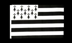 Flagge mit Hohlsaum Frankreich Bretagne