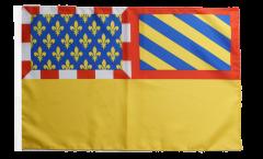 Flagge mit Hohlsaum Frankreich Côte-d'Or