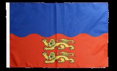 Flagge mit Hohlsaum Frankreich Calvados