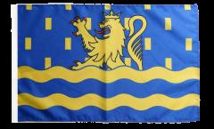 Flagge mit Hohlsaum Frankreich Doubs