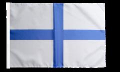 Flagge mit Hohlsaum Frankreich Marseille