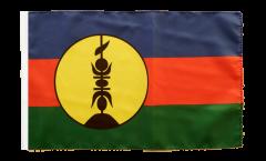 Flagge mit Hohlsaum Frankreich Neukaledonien Kanaky