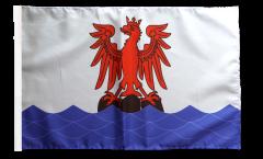 Flagge mit Hohlsaum Frankreich Nizza