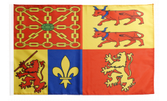 Flagge mit Hohlsaum Frankreich Pyrénées-Atlantiques
