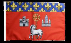 Flagge mit Hohlsaum Frankreich Toulouse