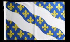 Flagge mit Hohlsaum Frankreich Yvelines