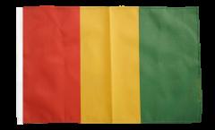 Flagge mit Hohlsaum Guinea