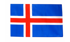 Flagge Island - 30 x 45 cm
