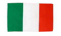 Flagge mit Hohlsaum Italien