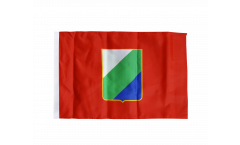 Flagge mit Hohlsaum Italien Abruzzen