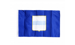 Flagge mit Hohlsaum Italien Basilikata