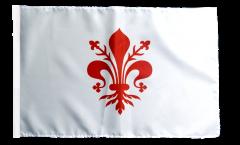 Flagge mit Hohlsaum Italien Florenz