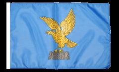 Flagge mit Hohlsaum Italien Friaul Julisch Venetien