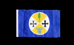 Flagge mit Hohlsaum Italien Kalabrien
