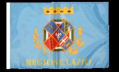 Flagge mit Hohlsaum Italien Latium Lazio
