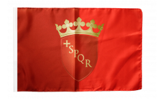 Flagge mit Hohlsaum Italien Rom