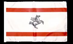 Flagge mit Hohlsaum Italien Toskana