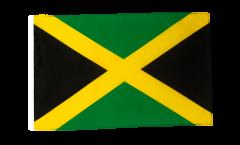 Flagge mit Hohlsaum Jamaika