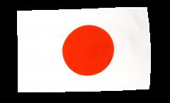 Flagge mit Hohlsaum Japan