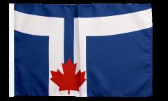 Flagge mit Hohlsaum Kanada Stadt Toronto