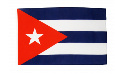 Flagge mit Hohlsaum Kuba