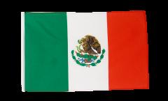 Flagge mit Hohlsaum Mexiko