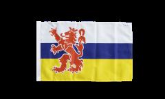Flagge mit Hohlsaum Niederlande Limburg