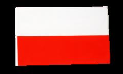 Flagge mit Hohlsaum Polen