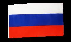 Flagge mit Hohlsaum Russland