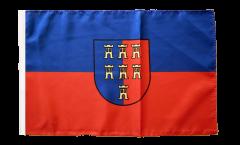 Flagge mit Hohlsaum Siebenbürger Sachsen