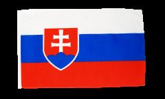 Flagge mit Hohlsaum Slowakei