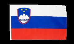 Flagge mit Hohlsaum Slowenien