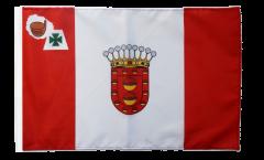 Flagge mit Hohlsaum Spanien La Gomera