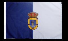 Flagge mit Hohlsaum Spanien La Palma