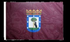 Flagge mit Hohlsaum Spanien Stadt Madrid
