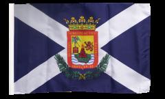 Flagge mit Hohlsaum Spanien Teneriffa