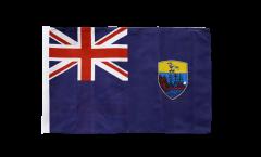 Flagge mit Hohlsaum St. Helena