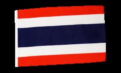 Flagge mit Hohlsaum Thailand