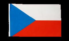 Flagge mit Hohlsaum Tschechische Republik