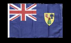 Flagge mit Hohlsaum Turks- und Caicosinseln