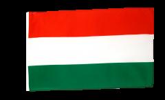 Flagge mit Hohlsaum Ungarn
