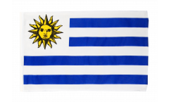Flagge mit Hohlsaum Uruguay