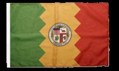 Flagge mit Hohlsaum USA City of Los Angeles